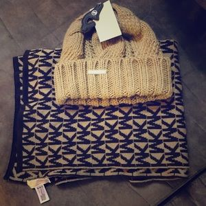 Michael Kors Winter Hat and Scarf